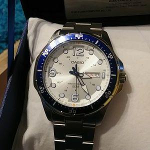 Casio Accessories - Casio Mens Water Resistant Watch